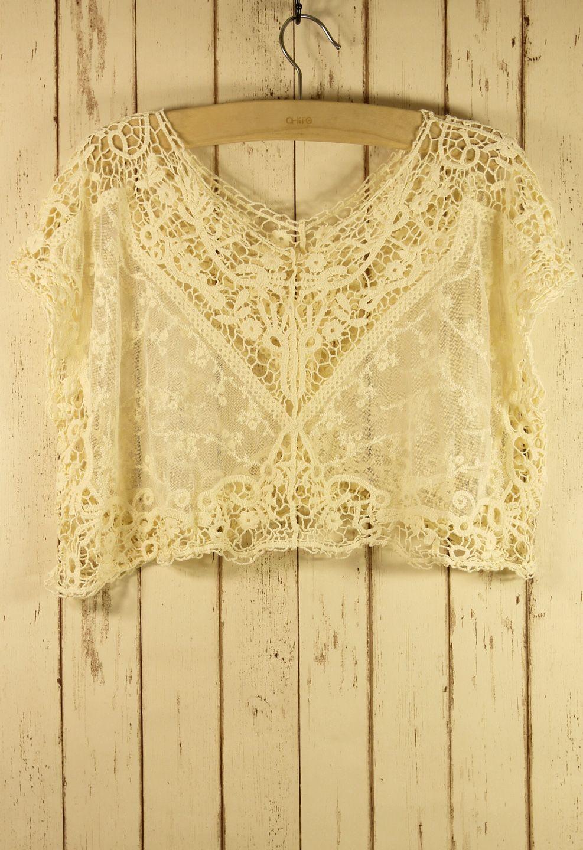Lace Crochet Smock
