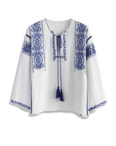 Stitch with Grace Boho Top