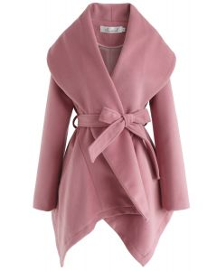 Prairie Rabato Coat in Pink